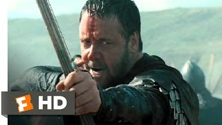 getlinkyoutube.com-Robin Hood (10/10) Movie CLIP - Beach Battle (2010) HD