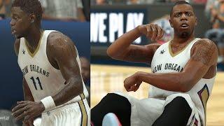 getlinkyoutube.com-NBA 2K17 Play Now - DeMarcus Cousins Pelicans Debut! PS4 Pro 4K