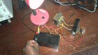 getlinkyoutube.com-How to  make a Simple and Powerfull 12v to 230V Inverter Circuit Using two MOSFETs