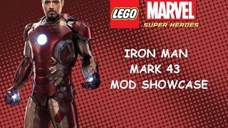 getlinkyoutube.com-LEGO Marvel PC Mod - Iron Man Mark 43 Mod Showcase