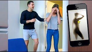 getlinkyoutube.com-Sex Tape PRANK on my Girlfriend - Gone TOO FAR!