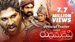 Anushka Rudhramadevi Movie Official Trailer