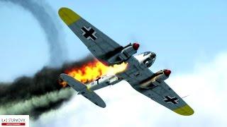 getlinkyoutube.com-IL-2 Sturmovik Battle Of Stalingrad Crashes Compilation #4 1440p