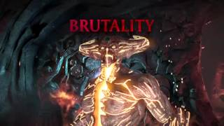 getlinkyoutube.com-Mortal Kombat X: Corrupted Shinnok Brutalities/Gameplay
