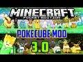 Minecraft Pocket Edition - Pokecube Mod v3.0
