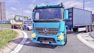 getlinkyoutube.com-Mercedes Antos ETS2 (Euro Truck Simulator 2)