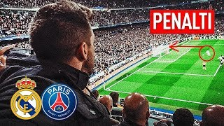 ASÍ VIVIMOS EL REAL MADRID 3-1 PSG !!!