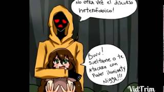 getlinkyoutube.com-Jeff x slenderman comic lov temporada 2 capitulo 5