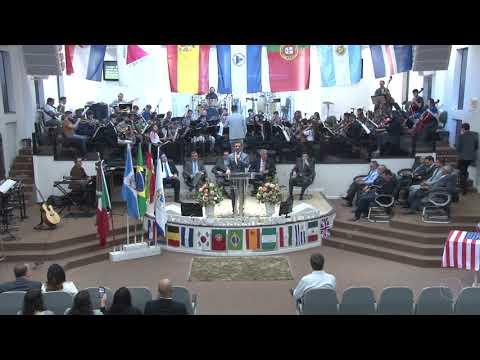 Orquestra Sinfônica Celebração - Harpa Cristã | Nº 511 | Glorioso Deus - 18 11 2018