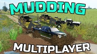 getlinkyoutube.com-FARMING SIMULATOR 2017 | GOING MUDDIN' | MULTIPLAYER | DURAMAX