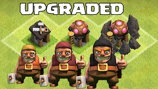 getlinkyoutube.com-Clash Of Clans - NEW UPGRADED BUILDERS!!! ( October wishlist for Clashcon)