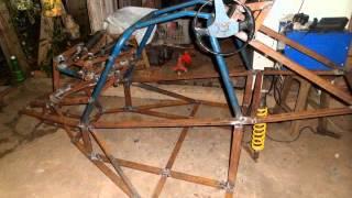 getlinkyoutube.com-kart cross construção parte 3