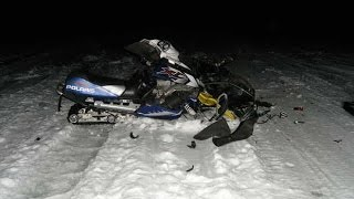 getlinkyoutube.com-INSANE and funny snowmobile crash compilation!