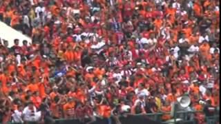 Lagu Persija Jakarta di Stadion Manahan