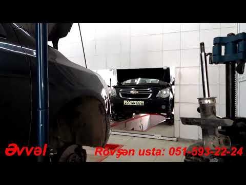 Amortizator doldurullmasi   Chevrolet Cobalt 2013