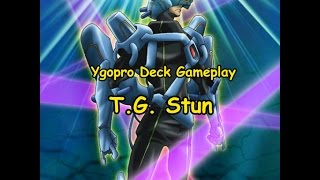 getlinkyoutube.com-Ygopro Deck Gameplay - T.G. Stun