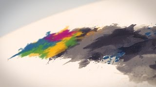 After Effects Template - Watercolor & Ink Logo Reveal