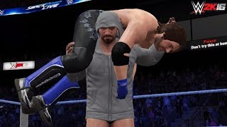 getlinkyoutube.com-WWE Dream Returns: CM Punk returns & confronts AJ Styles (WWE 2K16-2K15 PC Mods)