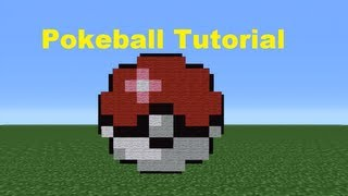getlinkyoutube.com-Minecraft 360: How To Make A Pokeball