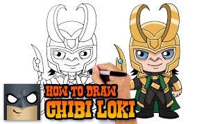getlinkyoutube.com-How to Draw Loki (Chibi)- Kids Drawing Tutorial