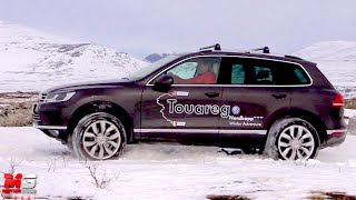 getlinkyoutube.com-NEW VOLKSWAGEN TOUAREG 2015 - DISCOVERY NORDKAPP WINTER ADVENTURE