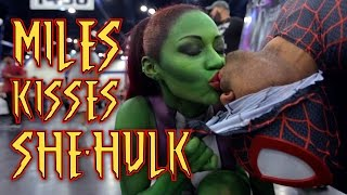 getlinkyoutube.com-Miles Morales Kissing She-Huk?!