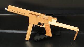 getlinkyoutube.com-[rubber band gun] blowback MAT-49
