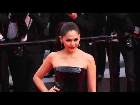 Chompoo Araya in Red Carpet Cannes Film 2014 Day 1