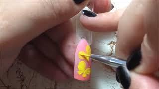 getlinkyoutube.com-Дизайн ногтей. Бабочка