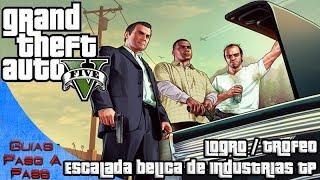 getlinkyoutube.com-Grand Theft Auto V | Logro / Trofeo: Escalada bélica de Industrias Trevor Philips