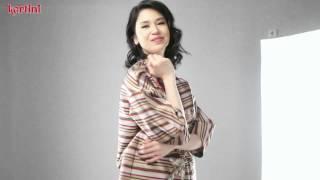 Laura Basuki - Behind Cover Shoot Majalah Kartini (Edisi 2398)