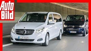 getlinkyoutube.com-Mercedes V-Klasse vs. VW T5