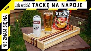 getlinkyoutube.com-Jak zrobić coś fajnego z niczego na majówkę - tacka na napoje i jedzenie