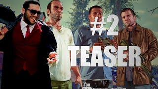 Grand Theft Auto V : Hesham afifi #2 Teaser - تشويقة قراند زفت تفحيط بتعليق هشام عفيفي #2