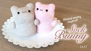 getlinkyoutube.com-The Best DIY Kawaii Plush Tutorial Ever! You won't believe how easy it is to make these bunnies!