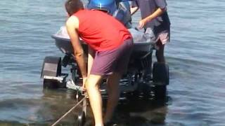 getlinkyoutube.com-Alans Slippery Slipway Jetski Launch