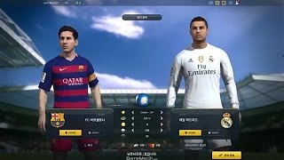 getlinkyoutube.com-FIFA ONLINE 3 NEW ENGINE FC BARCELONA VS REAL MADRID GAMEPLAY [ROSTER UPDATE 2015+IMPACT ENGINE]]
