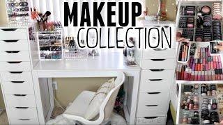 getlinkyoutube.com-Makeup Collection & Organization | 2015