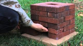 getlinkyoutube.com-DIY Brick Rocket Stove