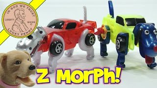 getlinkyoutube.com-Morphing Spikey Dino & Ruford Dog Cars - Z Morphs Z WindUps!