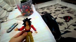 getlinkyoutube.com-Bonecos articuláveis do Dragão ball Z com Eick