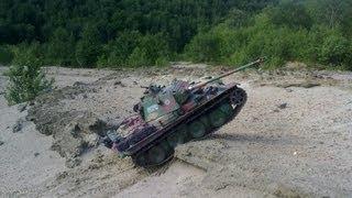 getlinkyoutube.com-Heng Long Panther G Tank 1/16