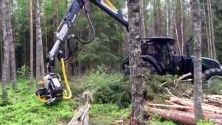 getlinkyoutube.com-Valtra X-series tractor harvester by Anders Skördare