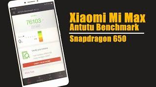 getlinkyoutube.com-Xiaomi Mi Max Antutu Benchmark    Snapdragon 650 3GB RAM 32GB ROM