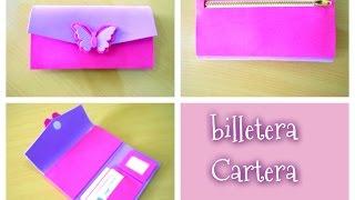 getlinkyoutube.com-DIY como hacer una billetera/cartera paso a paso