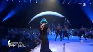 getlinkyoutube.com-Lady Gaga   The Edge Of Glory Live at Germany's Next Top Model 2011 Final HD