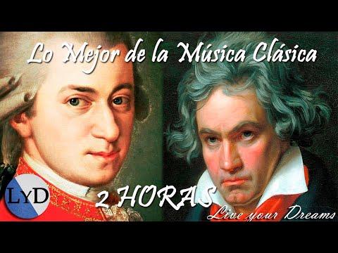 2 HORAS de la Mejor Música Clásica - Mozart, Beethoven, Bach ... - HD Música Clásica Piano Violin