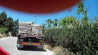 getlinkyoutube.com-FIAT 691 N 1972 ROMBO MOTORE ORIGINALE CAMION D'EPOCA FIAT 691 N IN MOVIMENTO BOMPIETRO