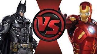 getlinkyoutube.com-BATMAN vs IRON MAN! Cartoon Fight Club Episode 15!