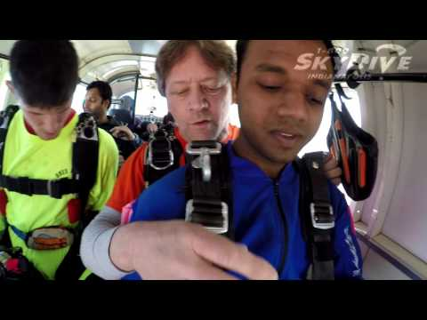 Gaurav Agarwal's Tandem skydive!